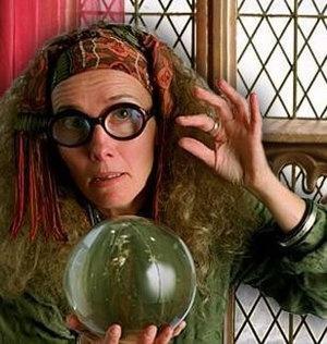 Sybil Trelawney, Harry Potter, Divination, Magic, Tarot